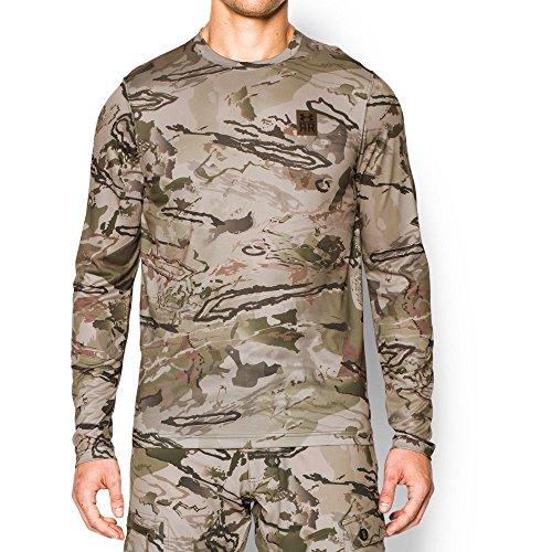 Under Armour Men's Ridge Reaper Long Sleeve T-Shirt, Reaper Camo/Hearthstone, Large