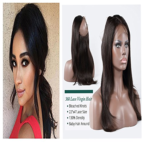Yiya-StraightBody-WaveDeep-Curl-Brazilian-Virgin-Hair-360-Lace-Frontal-Closure-8A-Lace-Frontals-with-Baby-Hair-22x4x2-Full-Lace-Band-Frontals-Natural-Hairline-1B-8-20