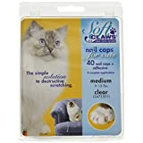 PROSELECT Feline Soft Claws Nail Caps Med Clear