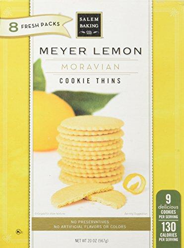 Salem Baking Meyer Lemon Cookies 1, 20 Oz (Lemon Thins)