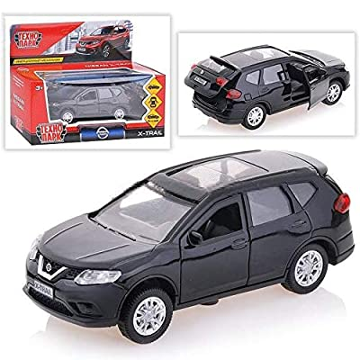 Diecast Metal Model Car Nissan X-Trail Black Toy Die-cast Cars: Toys & Games