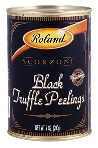 Roland Foods Black Truffle Peelings, 7 Ounce