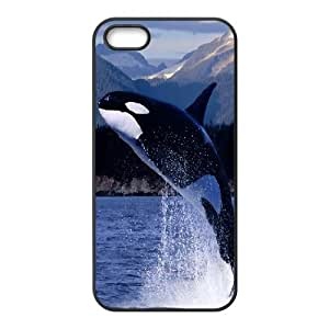 For Ipod Touch 5 Phone Case Cover Whale Jump, Color For Ipod Touch 5 Phone Case Cover - [Black]