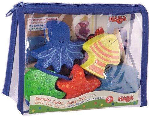 HABA Bambini Aqua Zoo Threading Beads