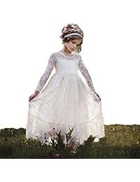 Ivory Dresses for Girls
