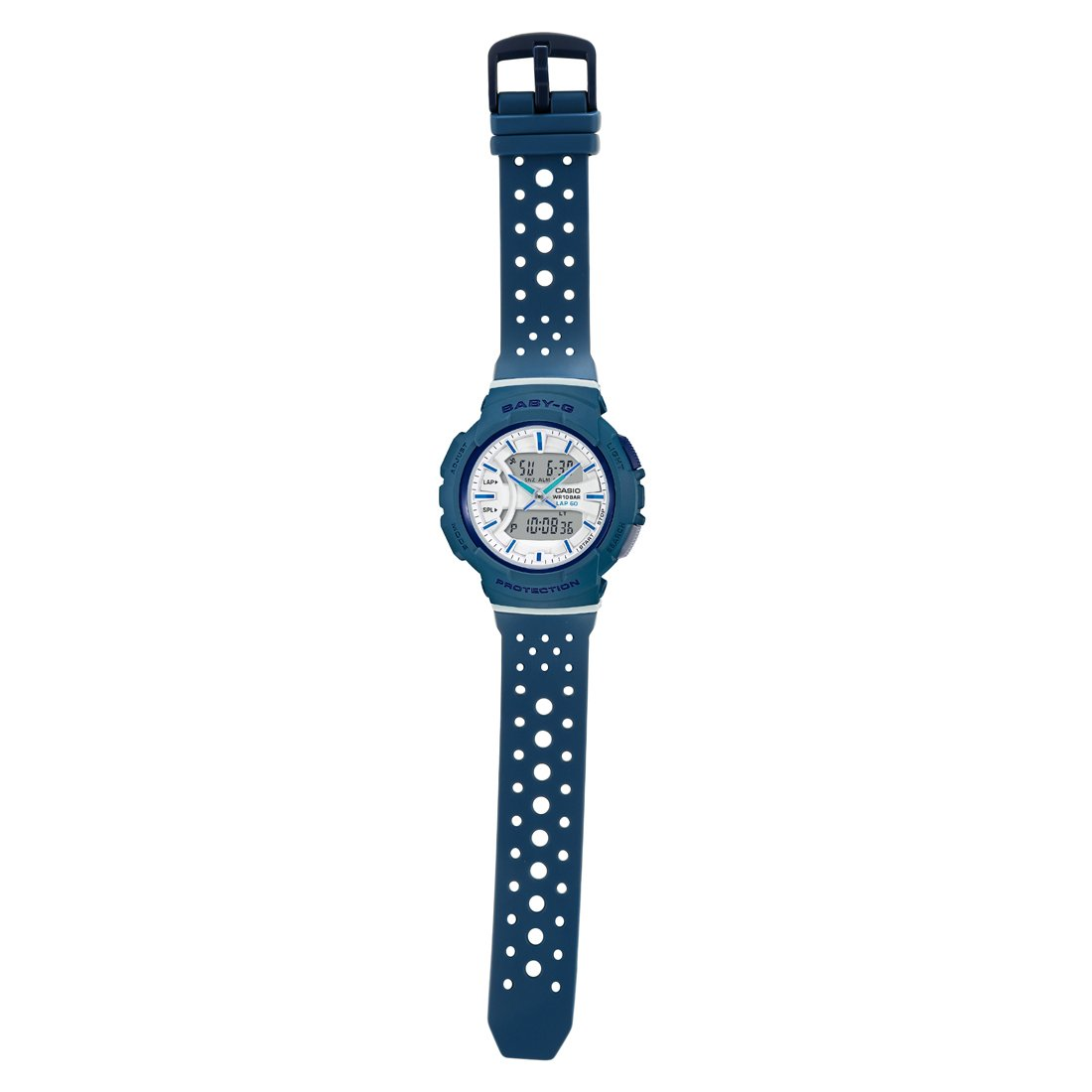 e0164fd04221 Buy Casio Baby-g Analog-Digital White Dial Women's Watch - BX093  (BGA-240-2A2DR) Online at Low Prices in India - Amazon.in