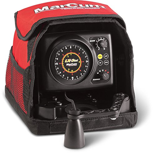 Marcum LX-3tci Sonar Flasher System, Red/Black primary