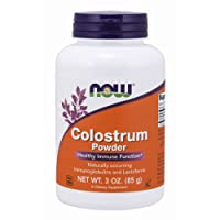 NOW Supplements, Colostrum Powder, Naturally occurring Immunoglobulins and Lactoferrin, 3-Ounce