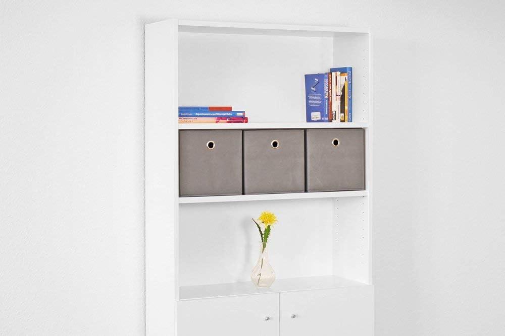Skudy IKEA Billy - Estantería Plegable (24 x 23 x 24 cm, 3 ...