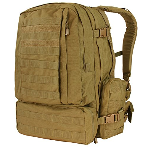Condor Outdoor Products 3 Day Assault Pack, Coyote Brown (Best 3 Day Pack)