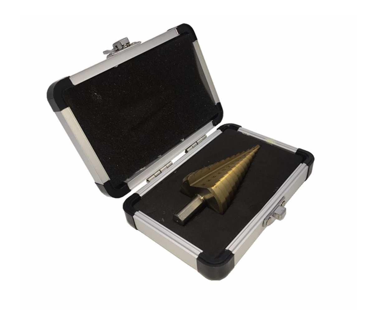 LEXPON Professionnel Foret étagé 4-39 mm HSS Cône Fraise HSS Foret étagé avec boîte Foret à métal HSS Tôle Foret LEXPON.CO. LTD