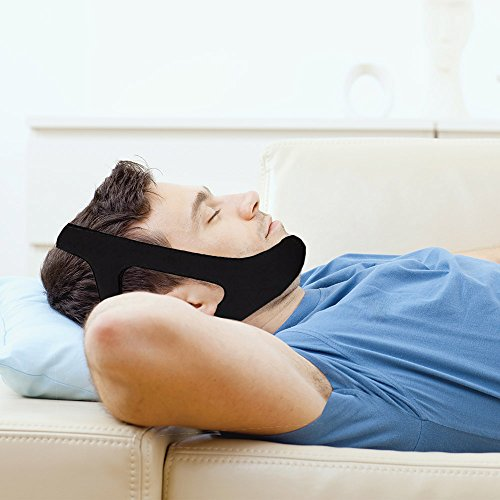 SoundtoSleep™ Anti Snoring Chin Strap – Snore Stopper Guard - Instant Snoring Relief - Best Sleep Aid Device - Stop Snoring Tonight!