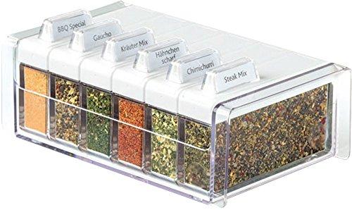 Emsa Spice-Box Gewürz-Karteikasten Bbq