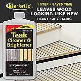 Star brite One Step Teak Cleaner & Brightener 32