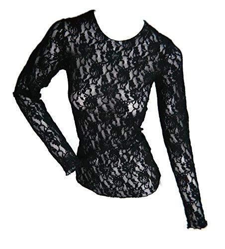 (Hanky Panky Women's Signature Lace Top, Black, X-Small )