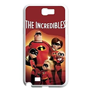 SamSung Galaxy Note2 7100 phone cases White The Incredibles cell phone cases Beautiful gifts NYTR4630304