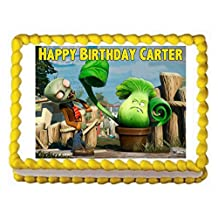 PLANTS VS. ZOMBIES Cake Image Topper