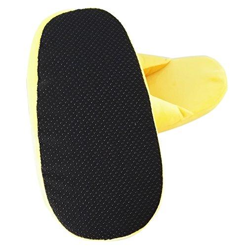 Emoji Emoticon Zapatillas Cómodo Térmica Vellocino Invierno Casa Zapatos Zapatillas D