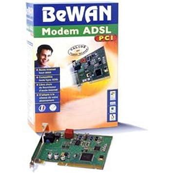 BEWAN ADSL MODEM PCI DRIVERS FOR MAC