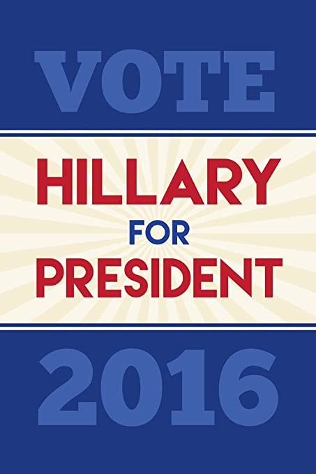 amazon com vote hillary clinton president 2016 tan navy red