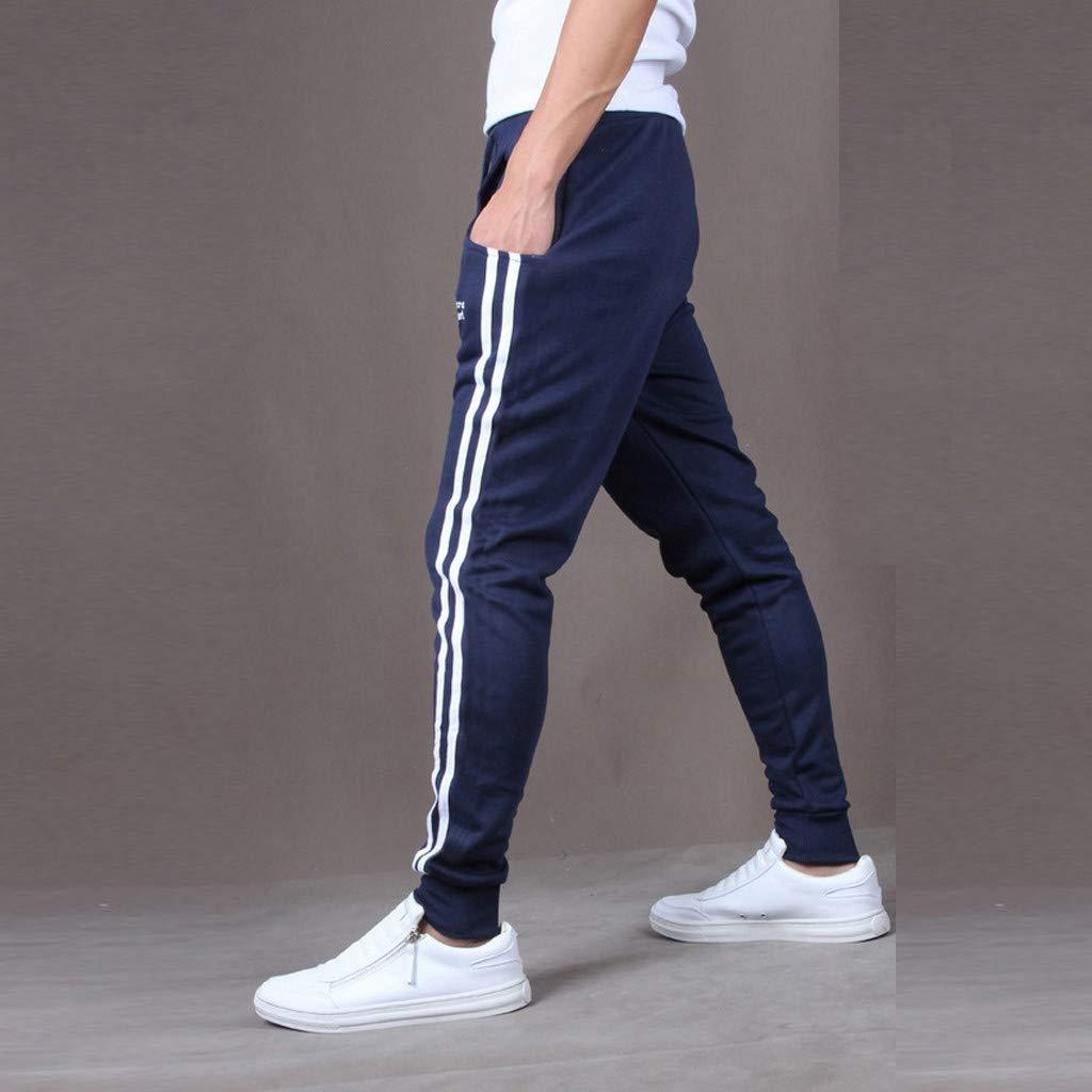 Alangbudu Mens Casual Skinny Jogging Harem Pants Jogger Sweatpants Jogger Pant Elastic Waist