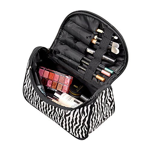 Price comparison product image HHE Cosmetic Case Bag Appropriate Capacity Portable Women Makeup Cosmetic Bags Storage Bags for Travel