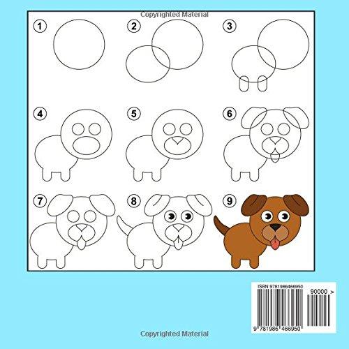 Paso A Paso Aprende A Dibujar Para Niños Libro 2: Imágenes simples ...
