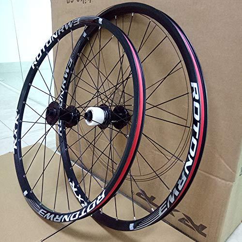 FidgetFidget 7-11 Speed QR/Thru Axle Mountain Bike Wheels 26/27.5/29'' Disc Brake MTB Wheelset 29'' Black Quick Release 1Pair Wheels by FidgetFidget (Image #9)