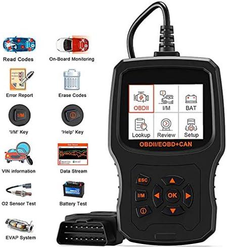 XCHUNA Fahrzeug OBD2 Scanner, Auto-Codeleser Diagnosescan-Werkzeug mit erweiterter Codedefinition und Upgraded Visualisierungs- Batteriestatus