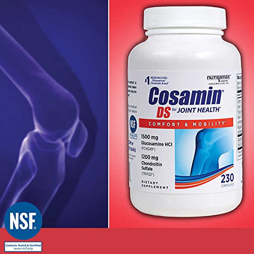 Cosamin DS For Joint Health Comfort & Mobility, Great Value Special 3 Pack ( 690 Count Total ) Cosamin-JE
