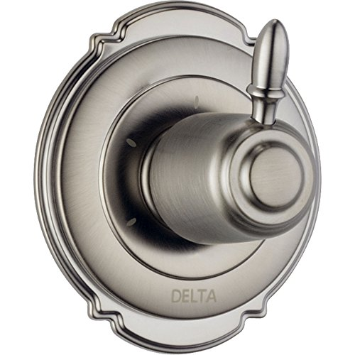 (Delta Victorian 3-Setting Stainless Steel Finish Shower Diverter w/ Valve D190V)