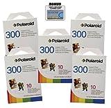 Polaroid PIF-300 Instant Film for 300 Series Cameras - 50 prints