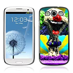 Designer Depo Hard Protection Case for Samsung Galaxy S3 / Clown Explosion