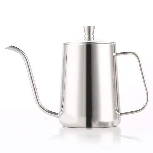 Cafeteras de goteo 600 ml de acero inoxidable verter sobre ...