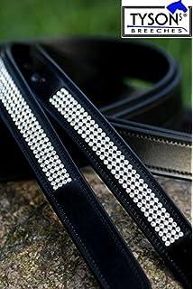 BR Dressurgerte Orion Strass schwarz-Silber 120cm