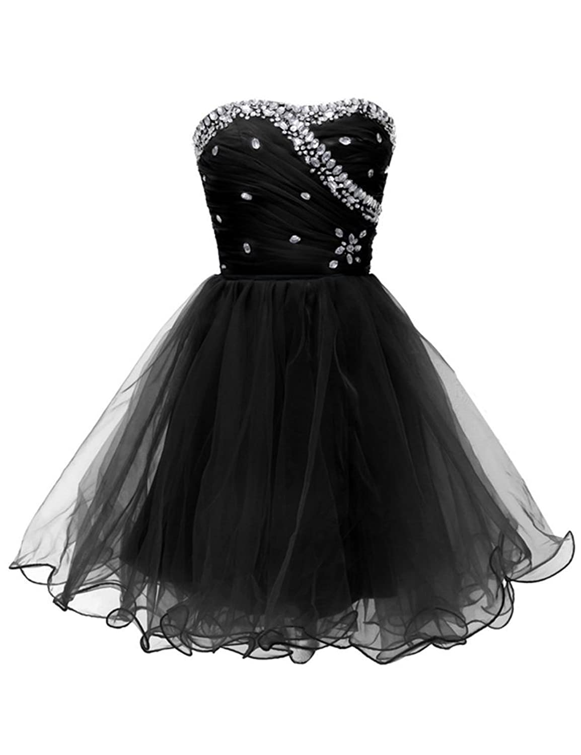 Vimans? Short Pleated Sweetheart Gowns Beaded Dresses for Evening for Women