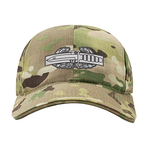 - USAMM Combat Action Badge Army Veteran Embroidered Operator Cap (Multicam)