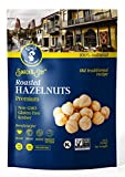 Roasted Hazelnuts Natural Non-GMO Certified, Unsalted, Dry Roasted, Kosher Certified, Resealable Bag 8 oz