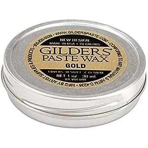 Amazon.com: Baroque Art Gilders Paste 1oz, Gold