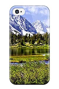 High Quality MaryannVillanueva Landscape Skin Case Cover Specially Designed For Iphone - 4/4s