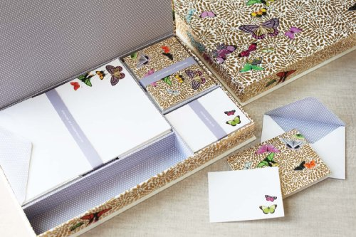 Fringe Studio gold Leaf Stationery Box Set by Fringe Studio