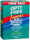Opti-Free Express Multi-purpose Disinfecting Solution, 2-Count, 10-Ounce Bottles by Opti-Free