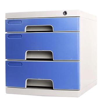 archivadores Archivador de cajón archivador plástico para Oficina de Escritorio Acabado con archivadores de Cerradura: Amazon.es: Electrónica