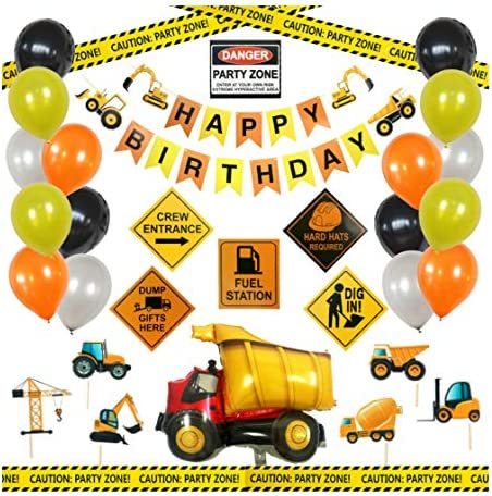 Construction Birthday Party Supplies Decoration product image