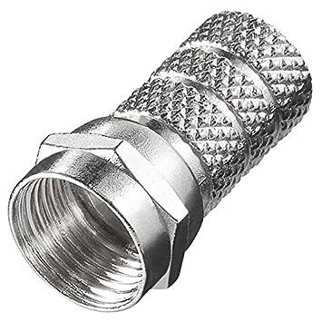Más de 10 pcs de conector F 4,6 mm; Para cable coaxial 4