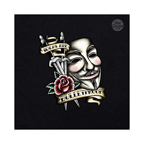 Black TV T Nemimakeit Nm0077a Series Serie Donna PacDesign Geek Shirt School TV V Old Vendetta Funny Film UWAwaxq