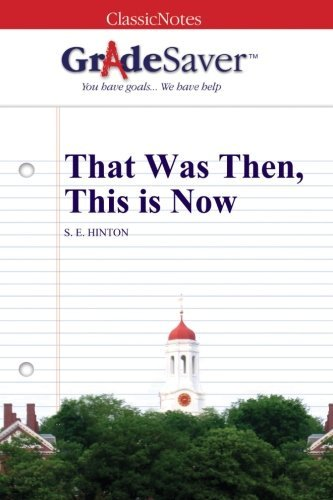 Summary of that was then this is now book