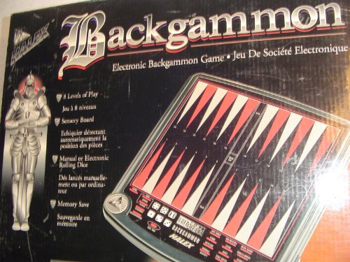 Halex Electronic Backgammon Computer Model 91160