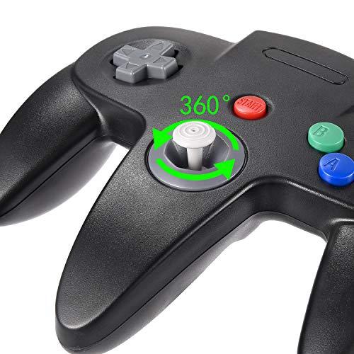 kiwitatá Classic N64 USB Controller, Retro N64 Bit USB Wired PC Game