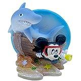 Penn Plax Mini Mickey with Shark, mini, Multi-Color